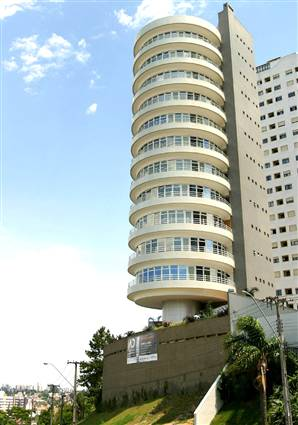 Suite Vollard – Curitiba, Paraná, Brazil 360-degree rotating apartment complex in Brazil.