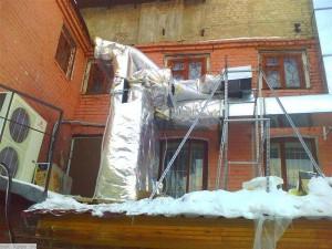 HVAC facade