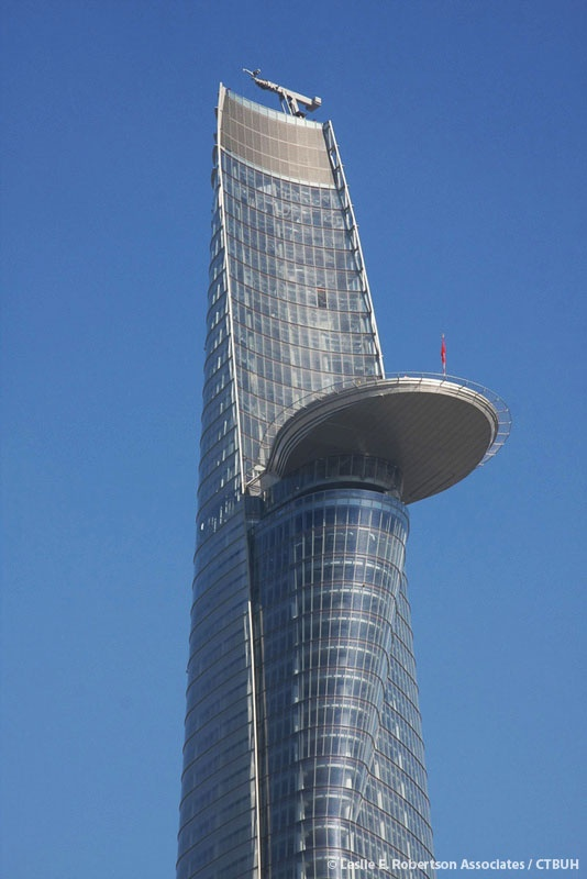 Bitexco Financial Tower in Vietnam : Carlos Zapata Studio, 2010