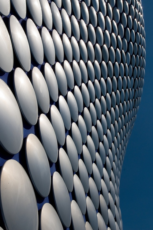 Selfridges Building in Birmingham, England via David Fergus Photography