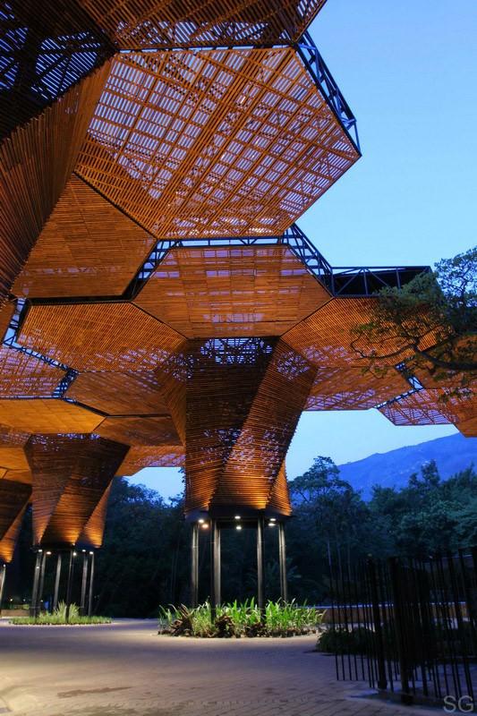 Botanical Garden (Jardin Botanico) in Medellin, Colombia :: Plan B Arquitectos and JPRCR Arquitectos