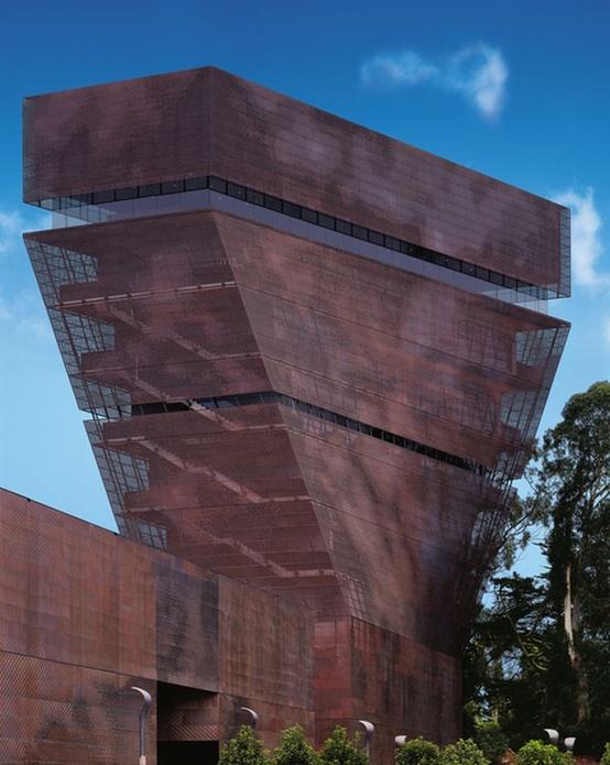 De Young Museum :: Herzog & de Meuron. Basel, San Francisco