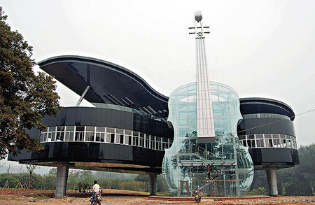 Piano Building  in Anhui province of China