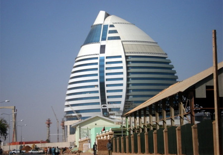 Burj Al Fateh Hotel five-star hotel located in Khartoum, the capital of Sudan