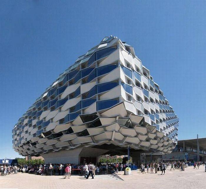 Expo Zaragoza 2008, Pabellón de Aragón, Spain