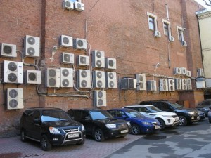 War between HVAC and Facades