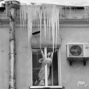 Window Access to Icicles