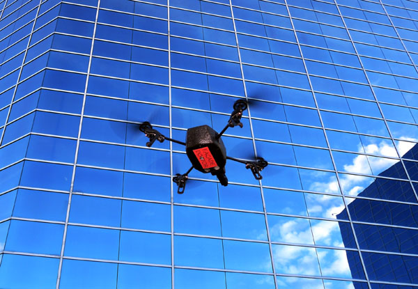 Unmanned aerial vehicle can be used for facade inspections - Facade Doctor LLC