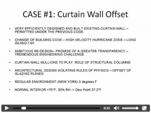 Case Study 1 - Thermal Analysis of a Curtain Wall Bay